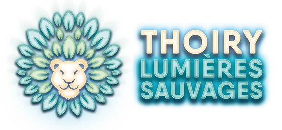 logo thoiry lumières sauvages